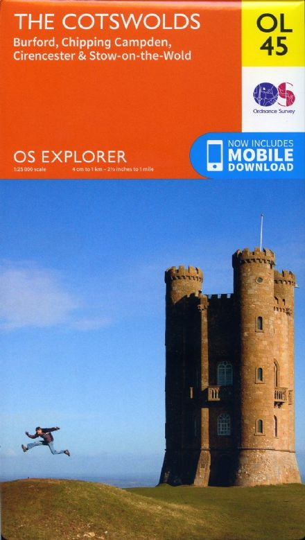 OS Explorer OL 45 The Cotswolds